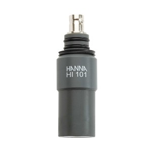 Hanna HI-101 submersible pH electrode with PVC body & BNC connector
