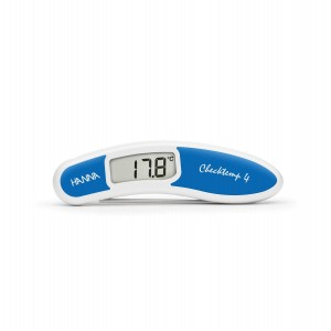 Hanna HI-151-2C Checktemp4 folding thermometer - blue - plus case