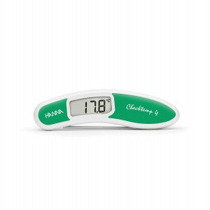 Hanna HI-151-4 Checktemp4 green folding thermometer for salad & fruit