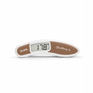 Hanna HI-151-5C Checktemp4 folding thermometer - brown - plus case