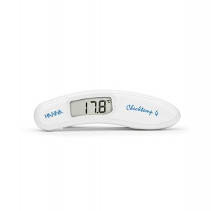 Hanna HI-151-0C Checktemp4 folding thermometer - white - plus case