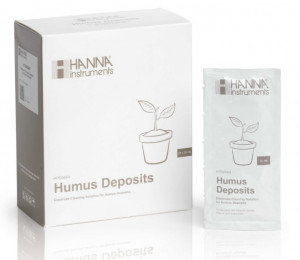 Hanna HI-700664P Cleaning Solution for Humus Deposits (Agriculture), 25 x 20 mL sachets