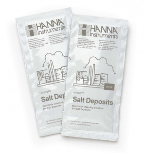 Hanna HI-700670P Cleaning Solution for Salt Deposits (Industrial Processes), 25 x 20 mL sachets