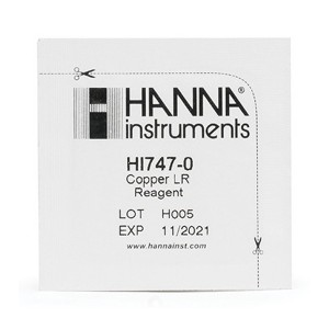 HANNA HI-747-25 Copper LR Checker reagents