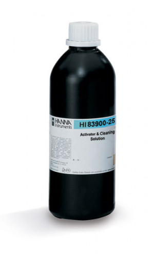 Hanna HI-83900-25 Activation Solution for HI-83900 Lysimeter