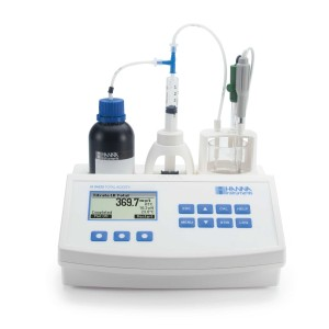 Hanna HI-84530-02 Automatic Benchtop Mini Titrator for Total Titratable Acidity and Titratable Alkalinity