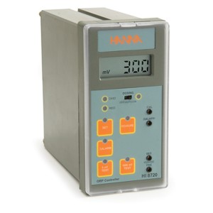 HANNA HI-8720 Panel mounted ORP analogue controller with self-diagnostic test, range: +/-1999 mV