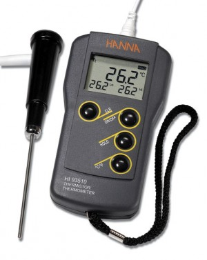 Hanna HI-93510 Thermistor Thermometer with probe