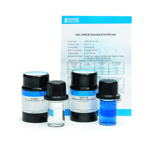 HI-97717-11 CAL Check™ standards for Phosphate HR, 0.0 and 15.0 ppm