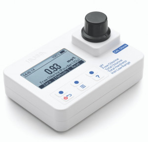 HI-97745 Free and Total Chlorine, Hardness, Iron Low Res, pH portable photometer