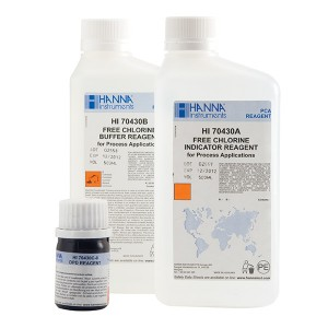 HI-70430 Free Chlorine reagent set for PCA for long term use, 500ml, plus 6g powder