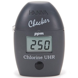 HI-771 Chlorine Handheld Colorimeter Checker®HC Ultra High Range (0-500ppm)