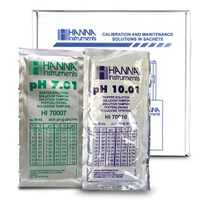 Hanna HI-770710P Combination Buffer Kit 10.01 & 7.01 pH 5 x 5 20ml Sachets