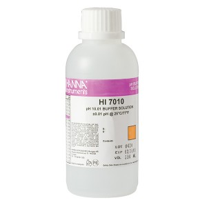 Hanna HI-7010M pH 10.01 Buffer Solution, 230 mL bottle