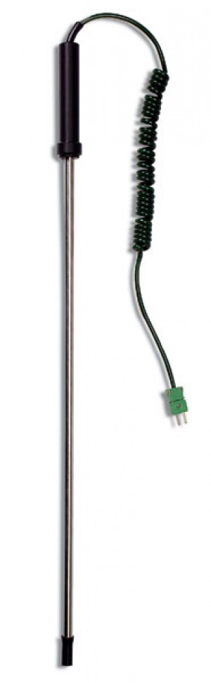 Hanna HI-766TR4 K-Type Thermocouple temperature probe for industrial use for tarmacadam and asphalt , 2m stem