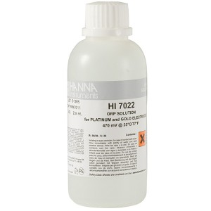 Hanna HI-7022M ORP test solution, 470mV, 230 mL bottle