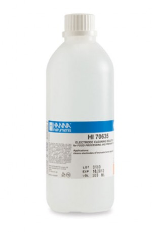Hanna HI-70635L Electrode Cleaning Solution from Wine Deposits (Winemaking)