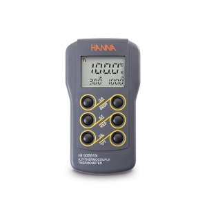 Hanna HI-93551N Waterproof K,J, T-type Thermocouple Thermometer
