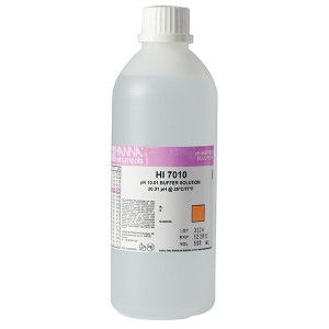 Hanna HI-7010L pH 10.01 Buffer Solution, 500 mL bottle