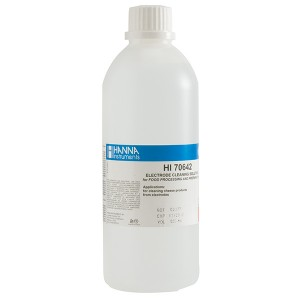 Hanna HI-70642L Electrode Cleaning Solution for Cheese Deposits
