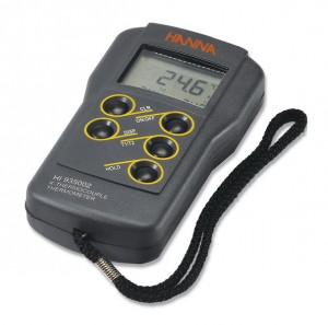 Hanna HI-935002 2-Channel K-Type Thermocouple Thermometer