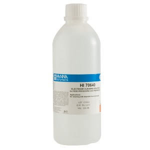 Hanna HI-70640L Electrode Cleaning Solution for Milk Deposits