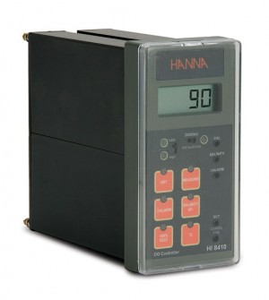 HI-8410 Panel Mounted Dissolved Oxygen Controller