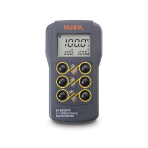 Hanna HI-93531R Waterproof K-type Thermometer