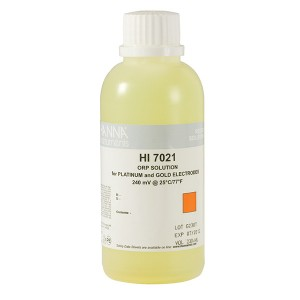 Hanna HI-7021M ORP test solution, 240mV, 230 mL bottle