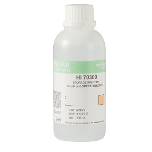 Hanna HI-70300M pH Electrode Storage Solution, 230 mL