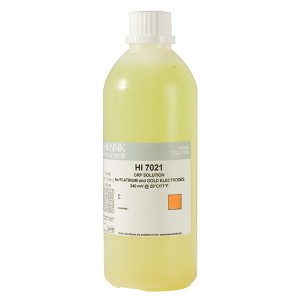 Hanna HI-7021L ORP test solution, 240mV, 500 mL bottle