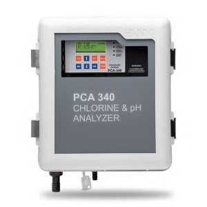 Hanna PCA340 Free & Total chlorine, pH & °C controller/analyser