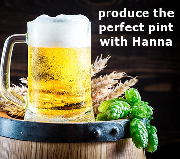 Produce the perfect pint with Hanna